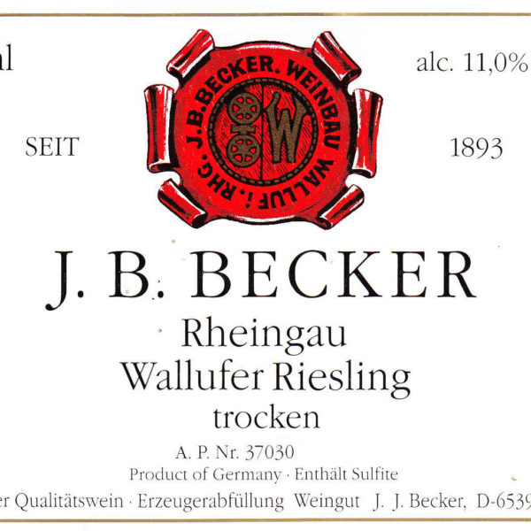 Becker Wallufer Trocken